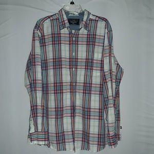 Men's Nautica long sleeve  dress shirt